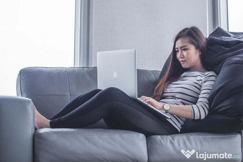 câștiguri de muncă la domiciliu pe internet job cu jumătate de normă