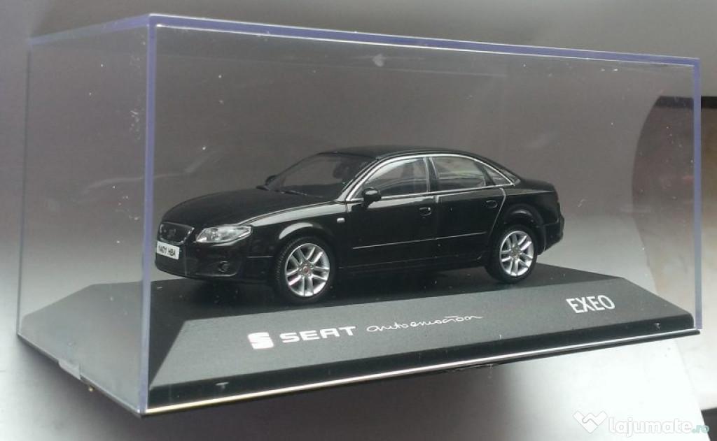 Macheta Seat Exeo 2008 sedan negru - Fischer 1/43