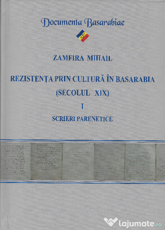 Cartea Rezistenta prin cultura Basarabia scrieri parenetice