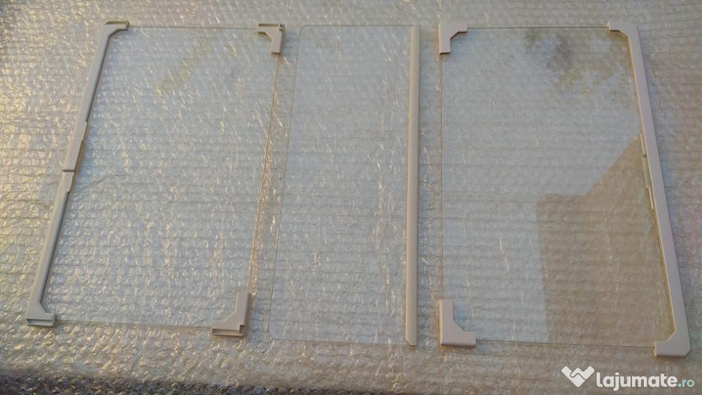 Polita sticla raft frigider capac sertar compartiment legume