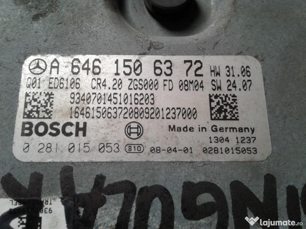 Calculator ECU Mercedes Sprinter W906, 2.2cdi, A6461506372