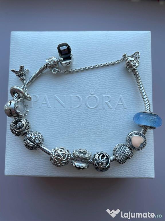 Brățară Pandora originală + 10 charmuri