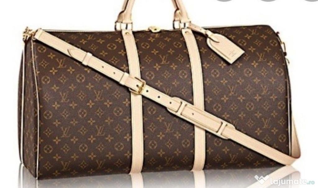 Genti voiaj Louis Vuitton new model unisex, curea detasabila