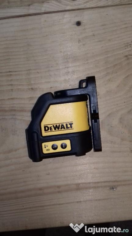 Nivela laser DEWALT DW 088 rosu