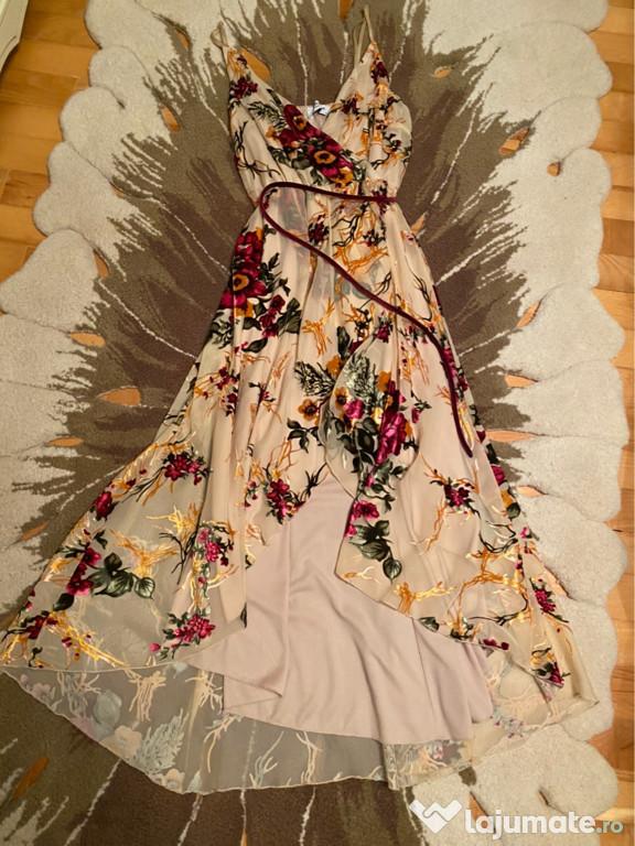 BSB rochița cu flori 3D catifea