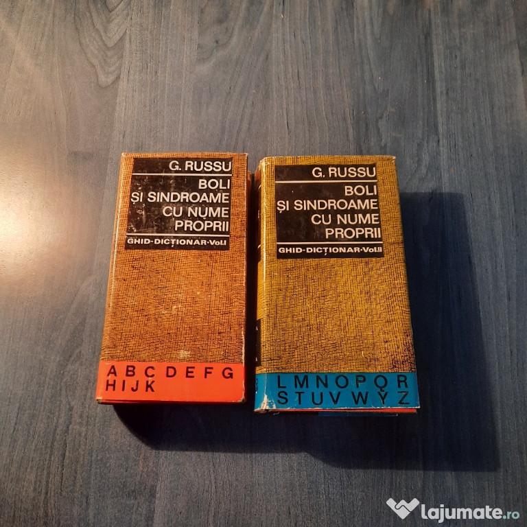 Boli si sindroame cu nume proprii 2 volume G. Russu