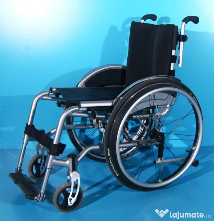 Scaun cu rotile activ din aluminiu Meyra / latime sezut 44 c