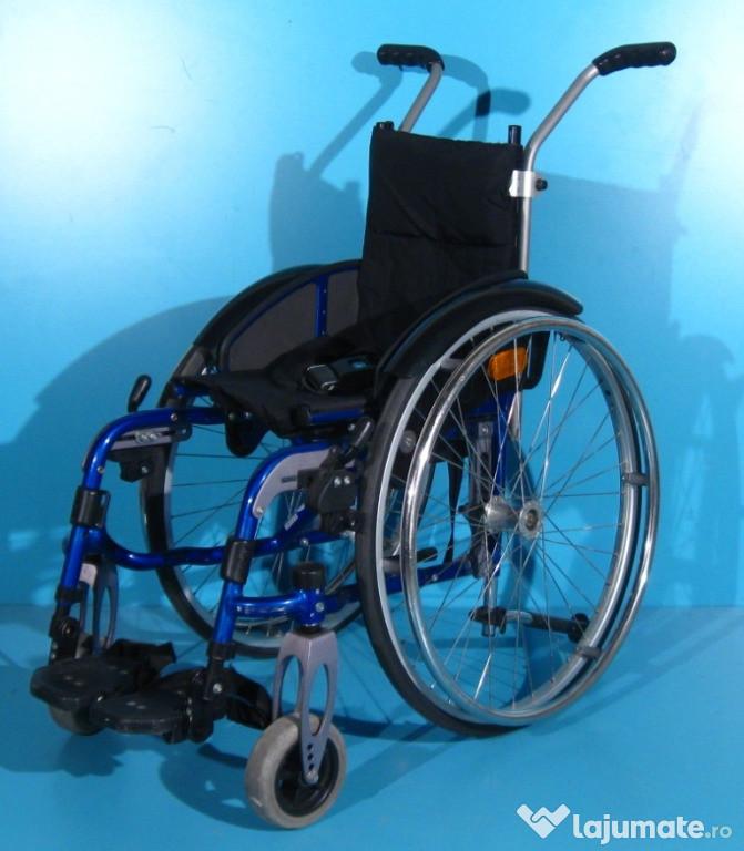 Scaun cu rotile semiactiv din aluminiu Sopur /sezut 27 cm