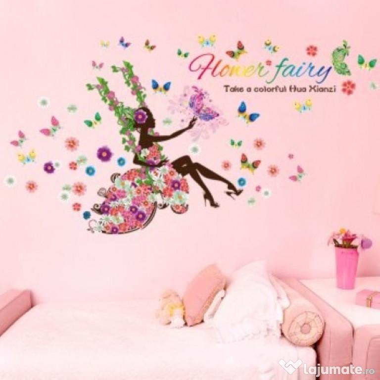 Sticker Decorativ, Flower Fairy 170 Cm, 71STK