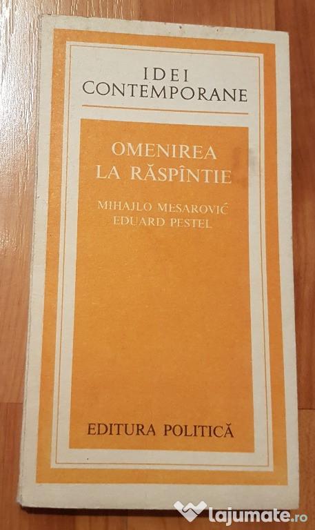 Omenirea la raspantie de Mihajlo Mesarovic
