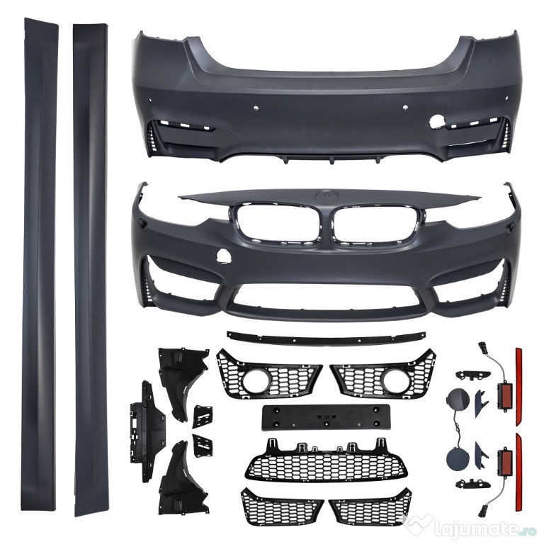 Kit exterior BMW SERIA 3 F30 (11-18) M3 Design SRA Fara Proi