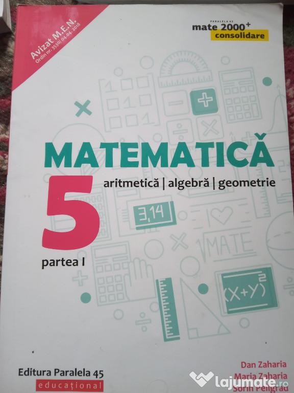 Culegeri de matematica clasa V