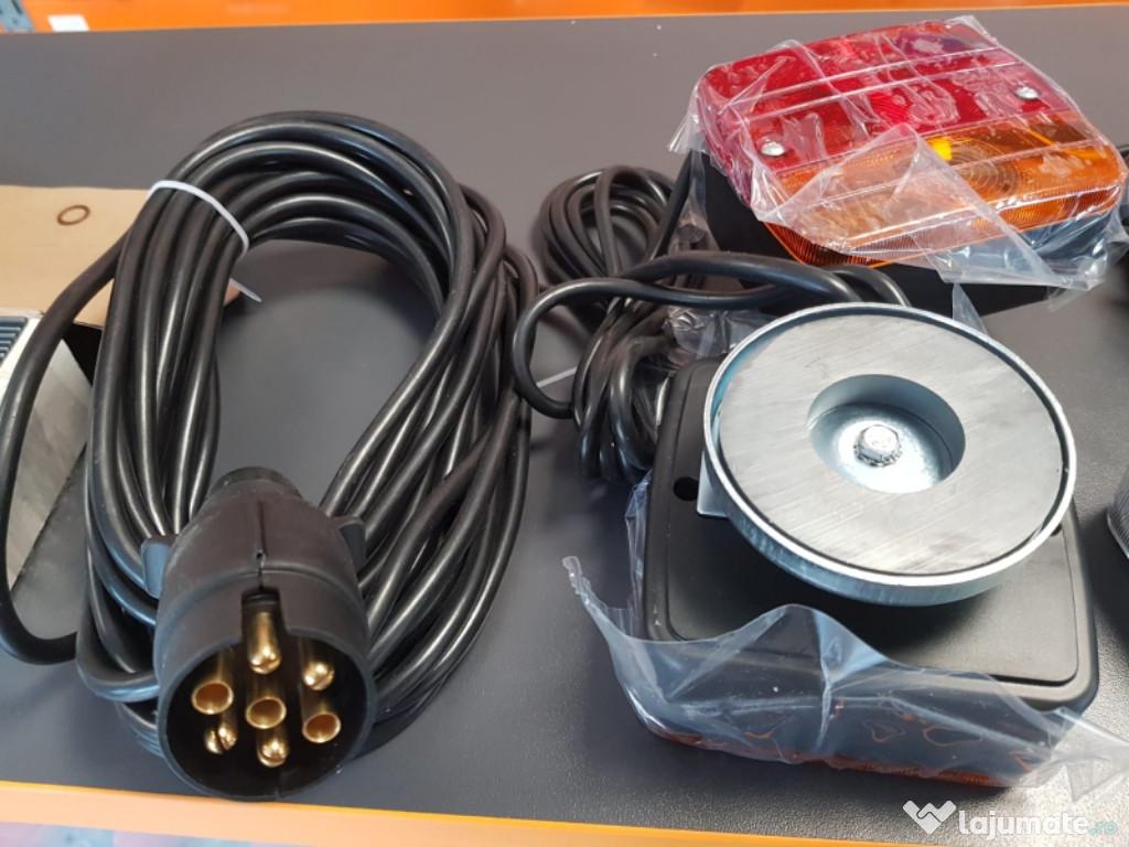 Instalație electrica magnetica detașabilă remorci