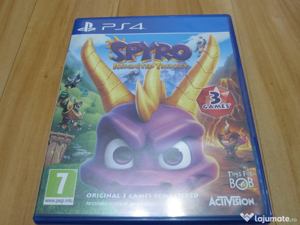 Joc Spyro Reignited Trilogy PS4 ideal pt.copii -ieftin