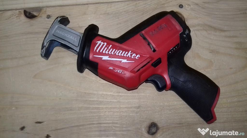 Fierastrau sabie Milwaukee M12 CHZ brushless acumulator