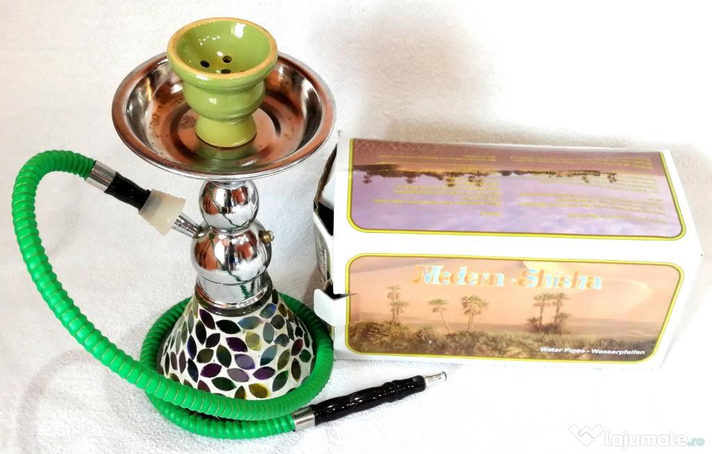 Narghilea, shisha, Amenti Green Hauser