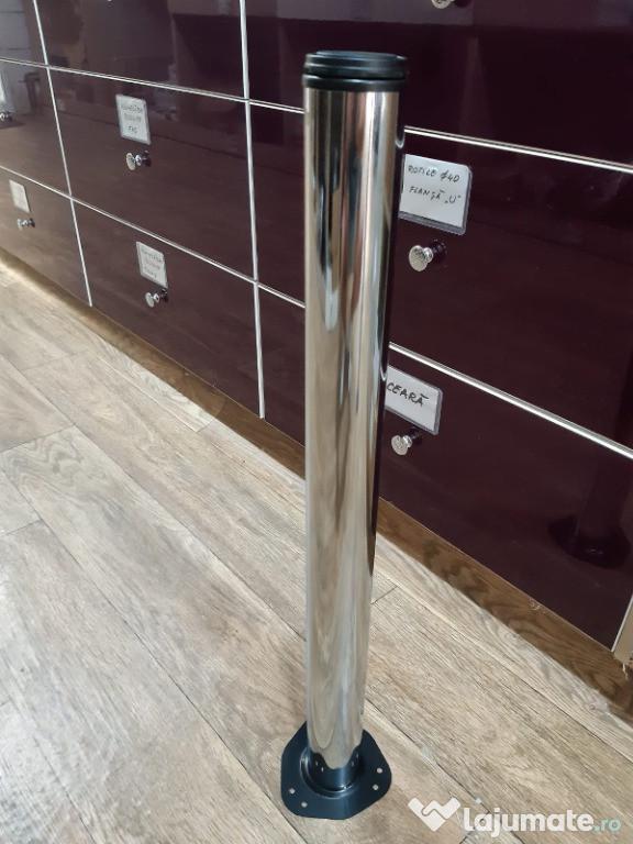 Picioare de Masa Premium 710mm Chrom