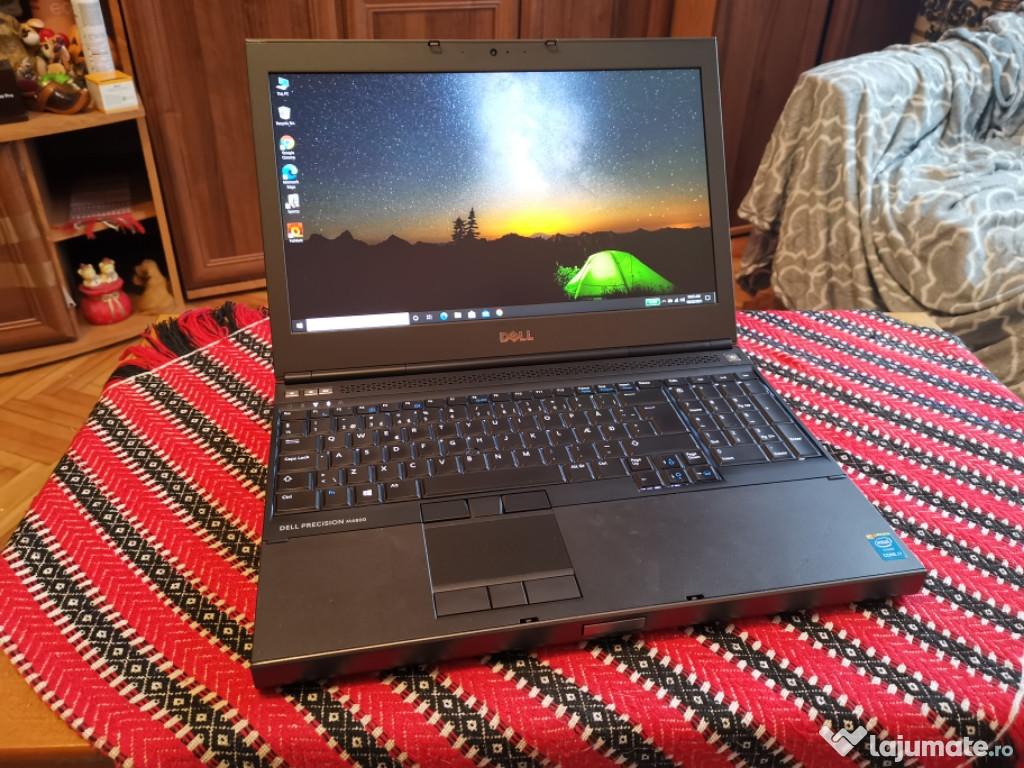 Laptop Dell Precision M4800 core I7 baterie noua
