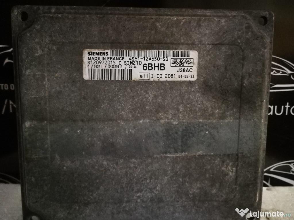 Ecu calculator motor ford fiesta 1.25 4S6112A650SB SIM210