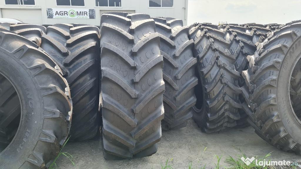 Cauciucuri noi 580/70R38 BKT AGRIMAX anvelope tractor spate