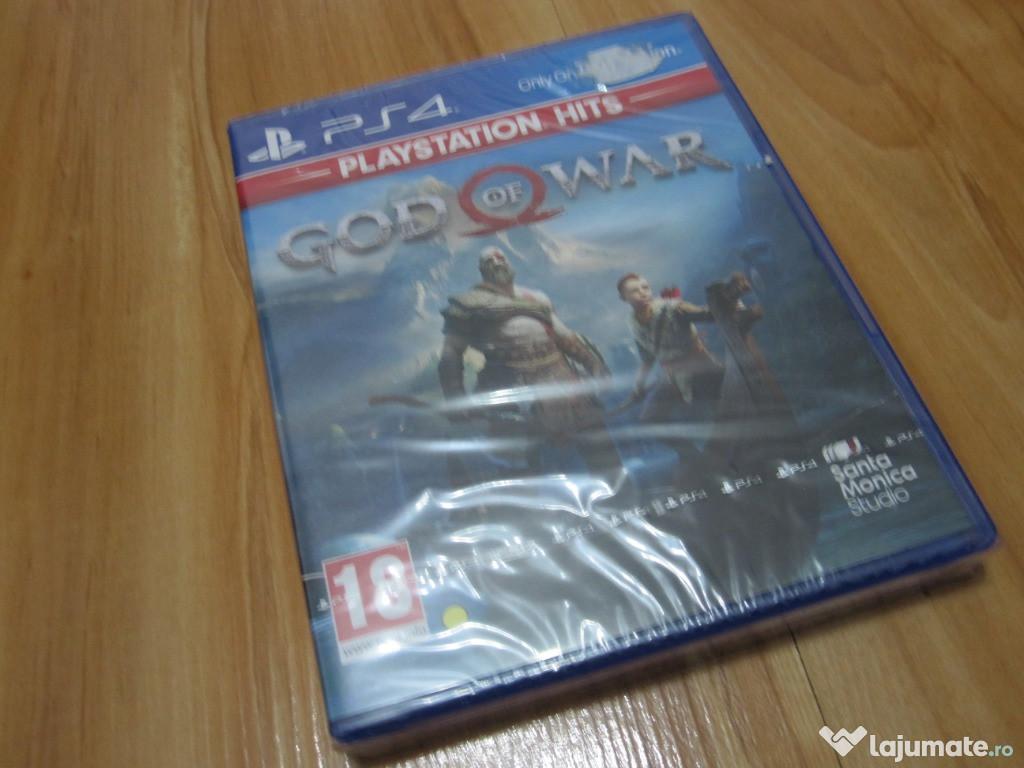 Joc God of War PS4 - nou, sigilat, ieftin