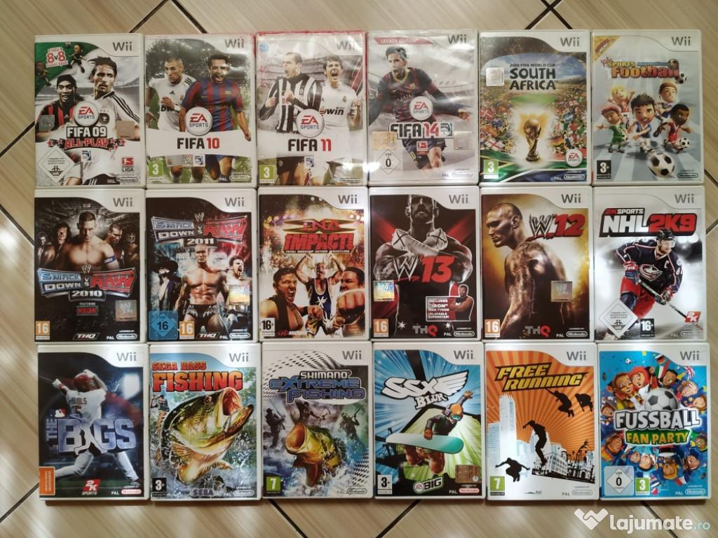 Wii:FIFA, W13, Smack Down Vs Raw, Fish, SSX Blur, NHL2K9,...