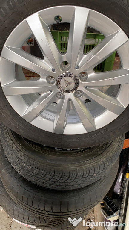 Jante Mercedes 16 cu anvelope goodyear