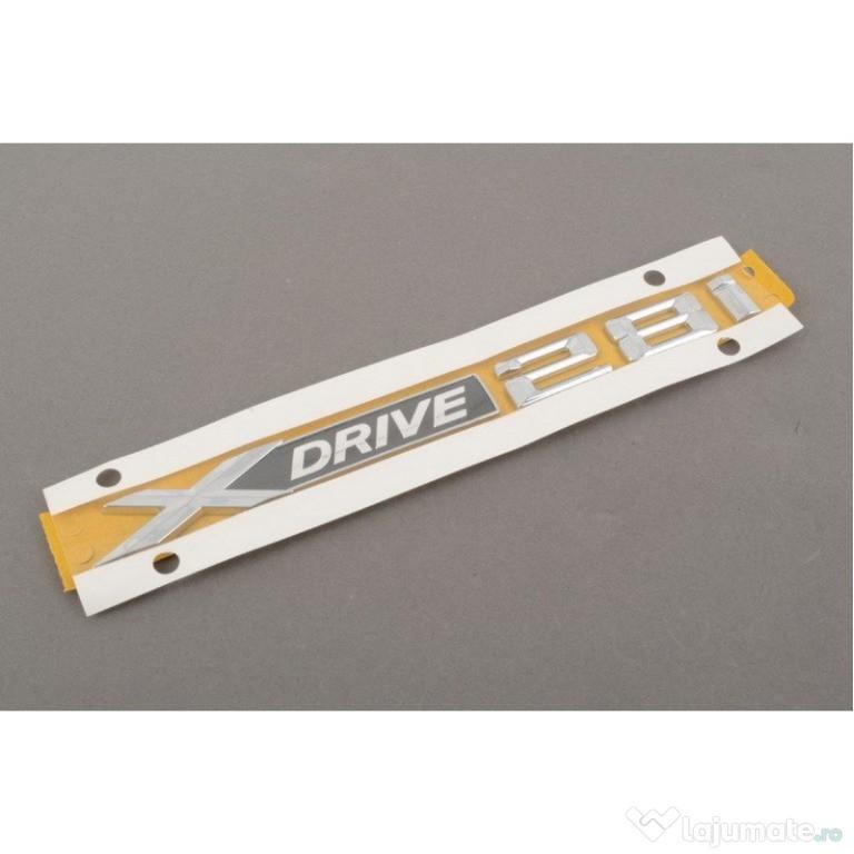 Emblema X-Drive 28i Oe Bmw X3 F25 2010→ 51147362671