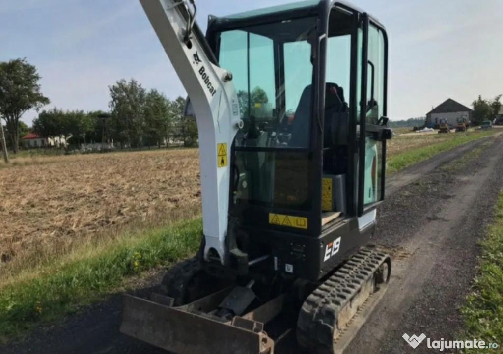Miniexcavator E21 an 2016 1800 kg buldo excavator jcb cat