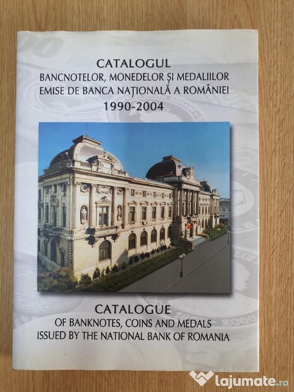 Catalogul Bancnotelor Monedelor Medaliilor emise de BNR 1990