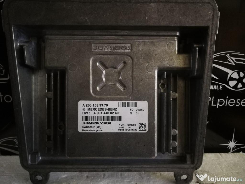 Ecu calculator motor Mercedes a class w169 1.7 A2661533379