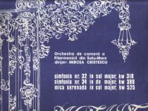 Mozart: Simfoniile nr.32&34, Mica serenadă, LP vinil Electre