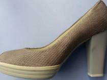 Pantofi cu toc, piele Hogan
