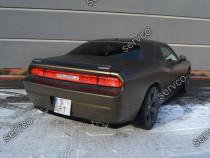 Prelungire splitter bara spate Dodge Challenger 08-14 v1