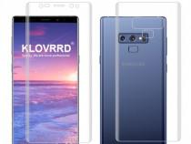 Samsung Note 8 9 Folie Transparenta Din Silicon Curbata Fata