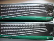 Parkside, germania, set 5 burghie videa, lungime 450 mm, pen