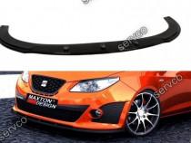 Prelungire splitter bara fata Seat Ibiza MK4 Cupra 08-12 v5
