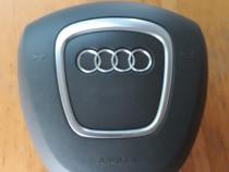 Airbag volan 3 spite audi a6, culoare gri