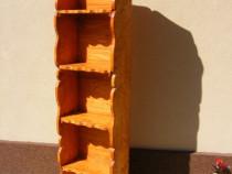 Etajera cu 5 polite din lemn