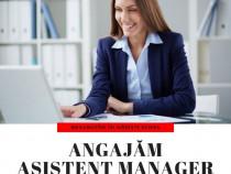Angajam Asistent Manager
