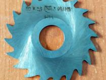 Freza disc - D.ext 60 x 2,5 mm (d.int 21 mm)
