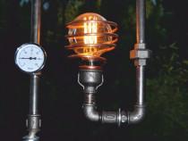 Lampa steampunkdesigncj, lampa steampunk, corp de iluminat