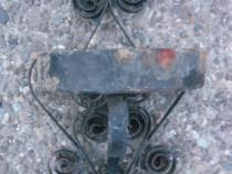 Suport de perete pt ghiveci din fier forjat