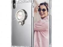 Huse diamond cu inel Iphone X / Xs / Xs Max / Xr