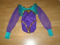 Costum carnaval serbare body dans balet gimnastica 9-10 ani