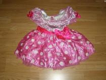 Costum carnaval serbare rochie minnie 4-5 ani