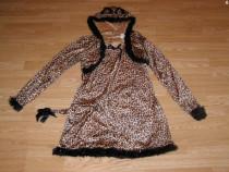 Costum carnaval serbare animal leopard pentru adulti L