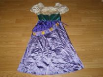 Costum carnaval serbare rochie tiganca esmeralda 8-9-10 ani