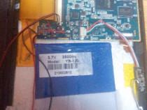 Placa de baza tableta EPAD M7 + baterie , webcam si difuzor