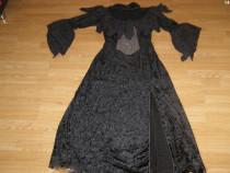 Costum carnaval serbare rochie medievala contesa adulti L-XL